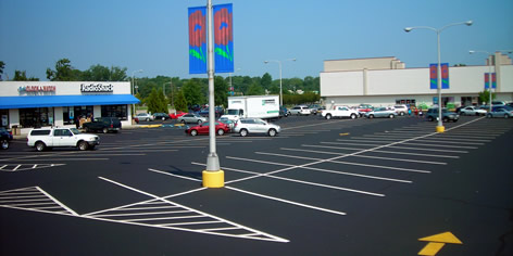 Parking Lot Maintenance Inc  Hampton Roads, VA: Sealing